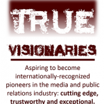 Quote on true visionaries of the company